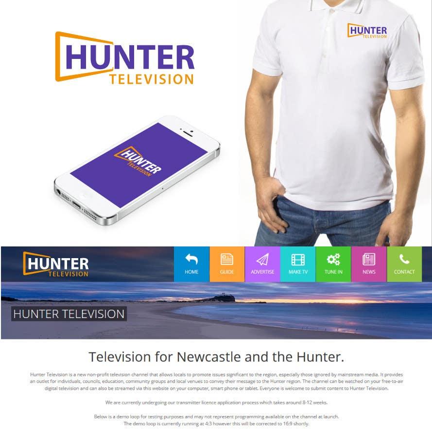 Конкурсная заявка №                                        103                                      для                                         Design a Logo for www.huntertv.org