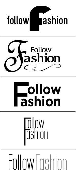 #91 for Logo Design for Follow Fashion by rcjteng