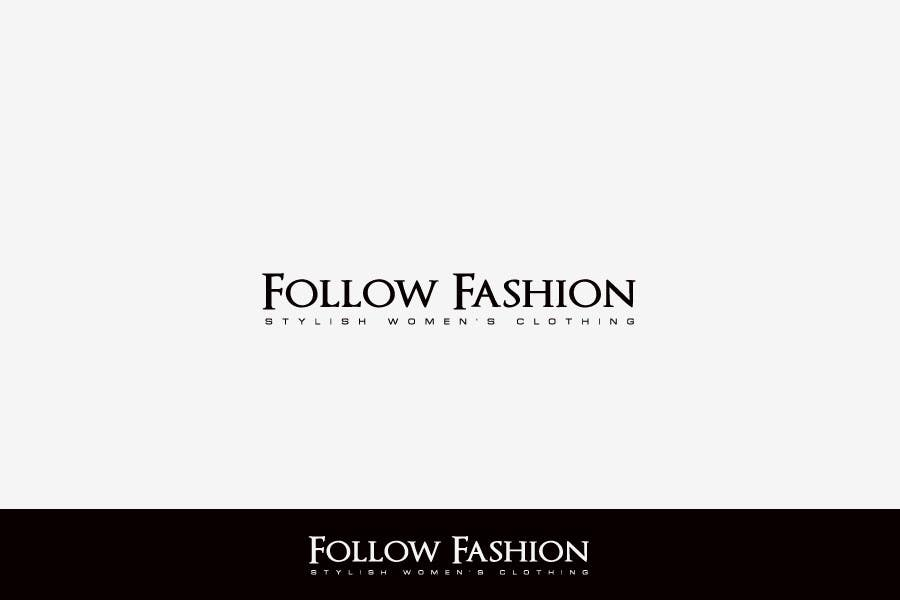 #63 for Logo Design for Follow Fashion by FreelanderTR