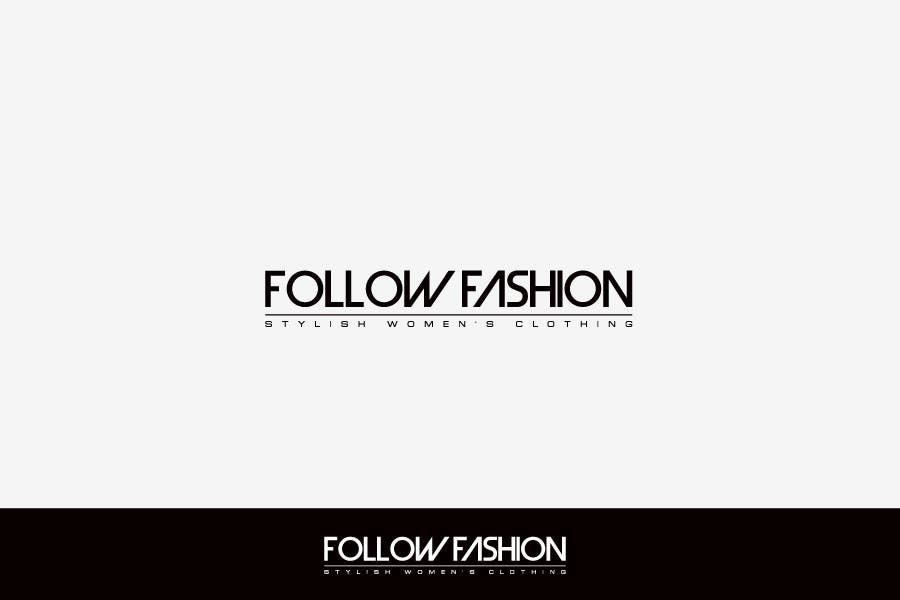#61 for Logo Design for Follow Fashion by FreelanderTR
