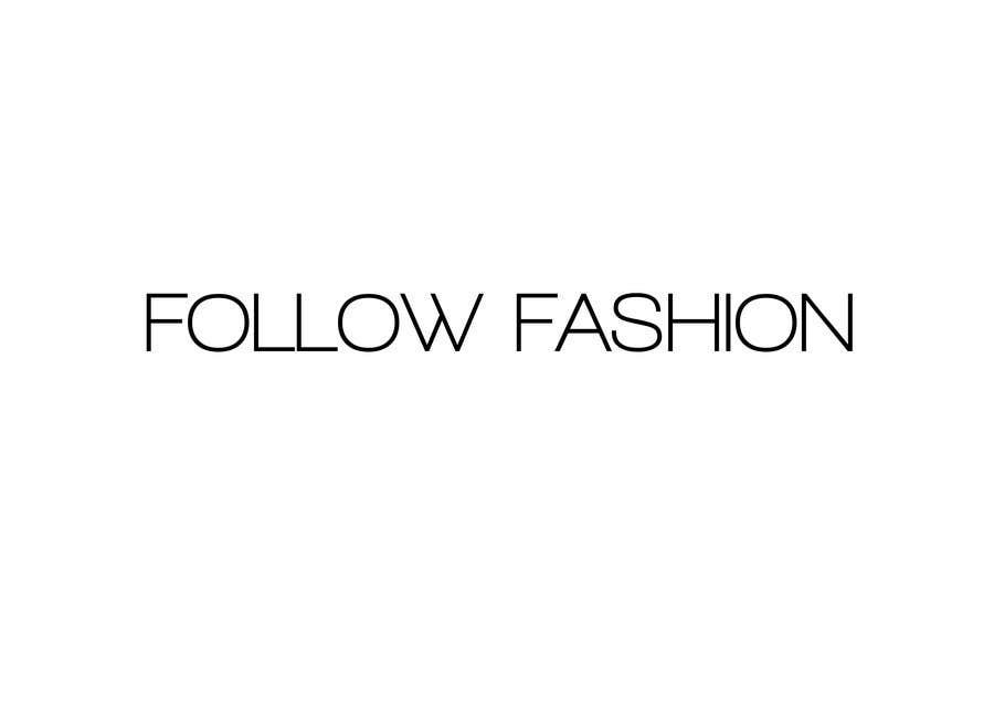 Bài tham dự cuộc thi #309 cho Logo Design for Follow Fashion