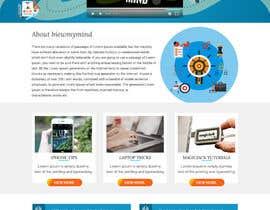 #14 for Design a WordPress Mockup by fourtunedesign