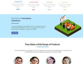 #3 for Design a WordPress Mockup by shomuk