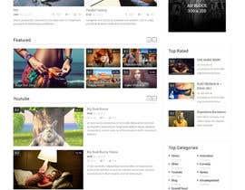 #15 for Design a WordPress Mockup by gurjeetsingh344