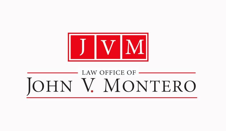 Penyertaan Peraduan #137 untuk Logo Design for Law Office of John V. Montero