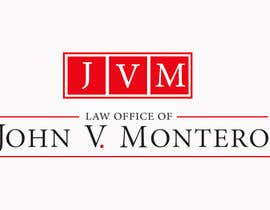 #137 untuk Logo Design for Law Office of John V. Montero oleh soniadhariwal
