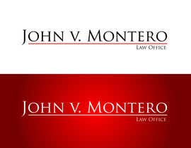 #22 untuk Logo Design for Law Office of John V. Montero oleh logoflair