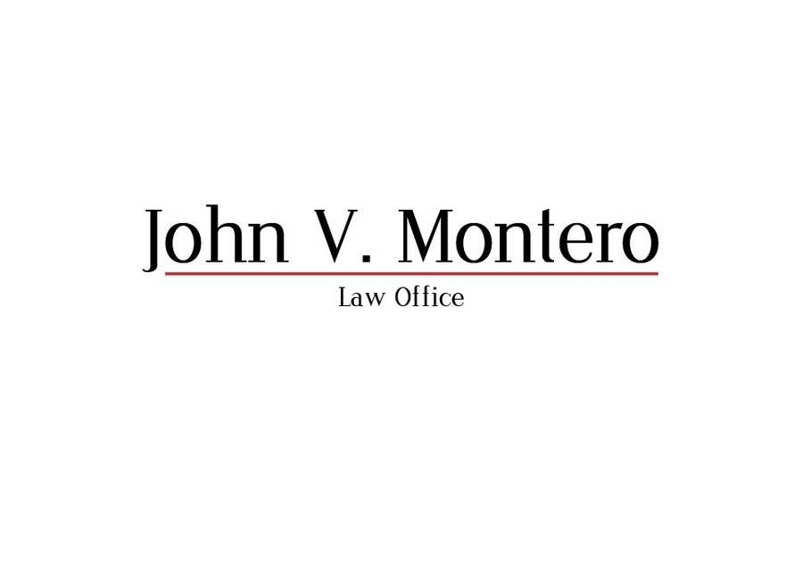 Inscrição nº 3 do Concurso para Logo Design for Law Office of John V. Montero