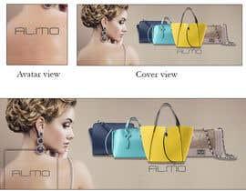 Nro 18 kilpailuun Designing a Facebook landing page for a brand of women handbags käyttäjältä MariaGraciaG