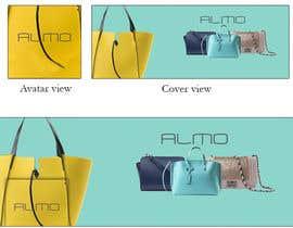 Nro 19 kilpailuun Designing a Facebook landing page for a brand of women handbags käyttäjältä MariaGraciaG