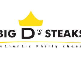 #66 para Design a logo for Big D's Steaks por madamushi