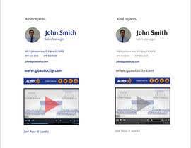 Nro 118 kilpailuun Email Footer/Signature Design käyttäjältä raximus