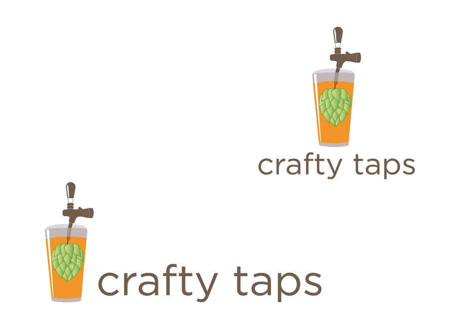 Penyertaan Peraduan #                                        38                                      untuk                                         Design a Logo for Crafty Taps