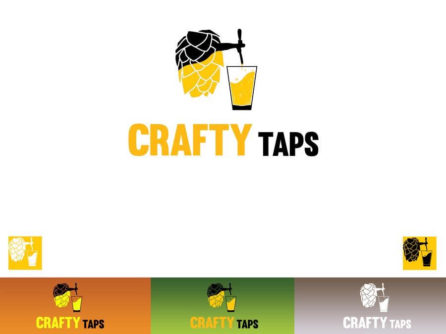 Penyertaan Peraduan #                                        41                                      untuk                                         Design a Logo for Crafty Taps