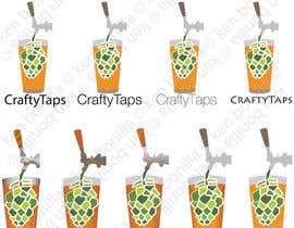 #4 for Design a Logo for Crafty Taps af kenbonilla