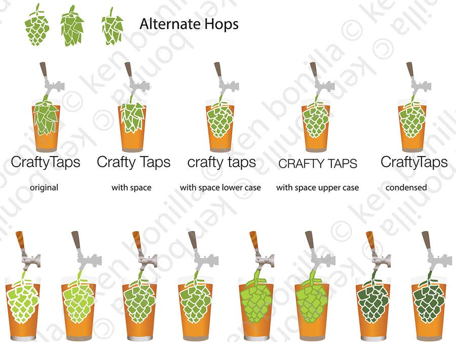 Penyertaan Peraduan #                                        13                                      untuk                                         Design a Logo for Crafty Taps