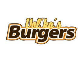 nº 32 pour Logo design for a burger cafe par ghenox