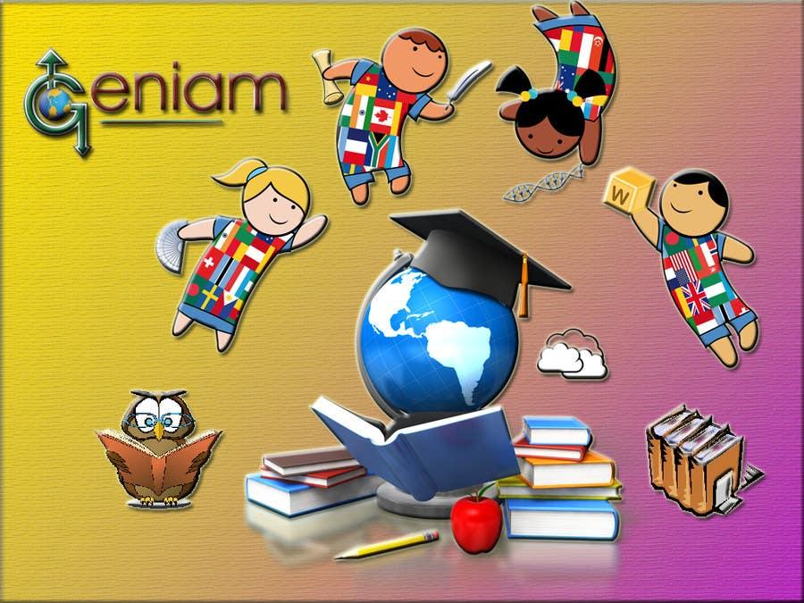 "#7 for Illustrate:  ""Making Education Viral"" by kevalpandya"