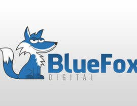 #54 untuk Design a Logo for Blue Fox Digital oleh alexisbigcas11