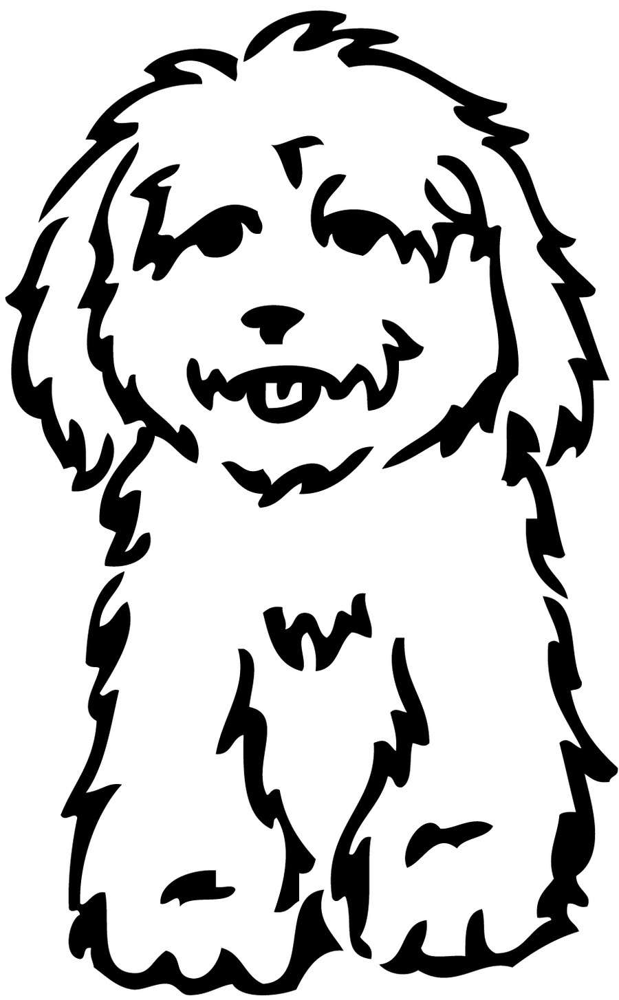 #25 for Logo / Drawing / Illustration of a dog by victorshade9999