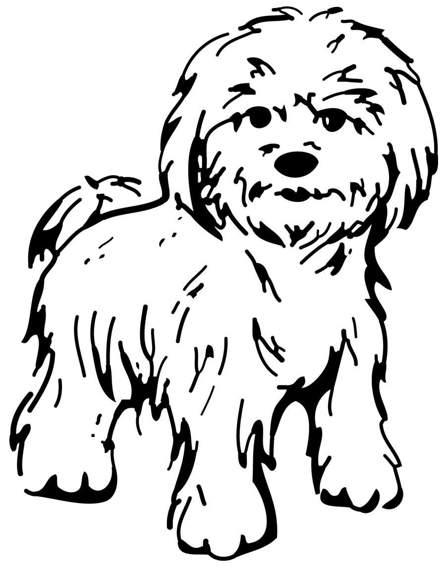 #38 for Logo / Drawing / Illustration of a dog by victorshade9999