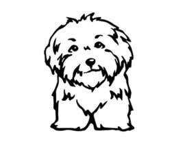 nº 8 pour Logo / Drawing / Illustration of a dog par cakikandy