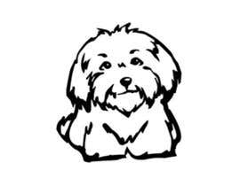 nº 44 pour Logo / Drawing / Illustration of a dog par cakikandy