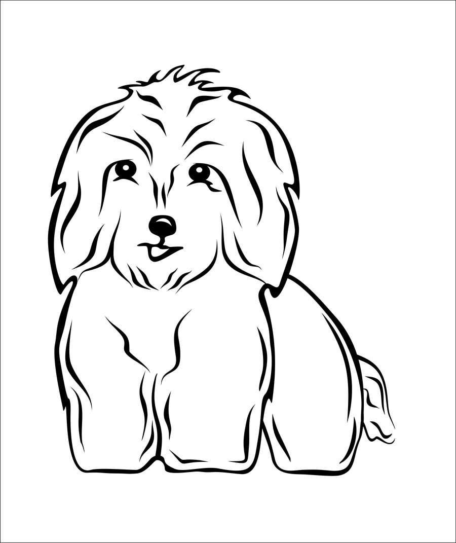 #42 for Logo / Drawing / Illustration of a dog by korodirazvan