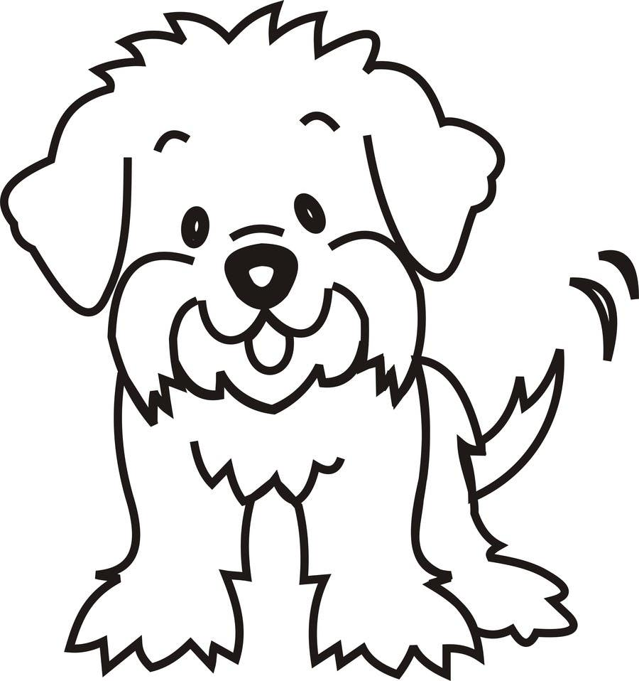 #19 for Logo / Drawing / Illustration of a dog by zainkarbalai9