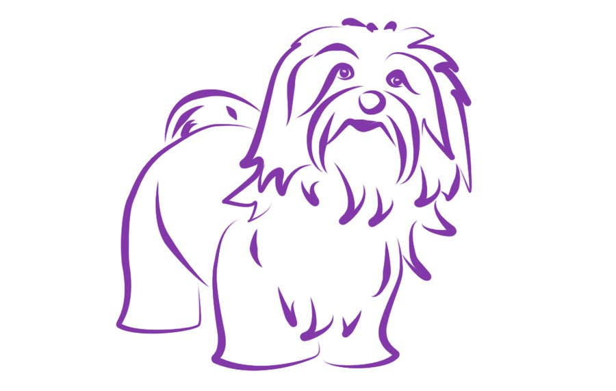 #33 for Logo / Drawing / Illustration of a dog by malathy27