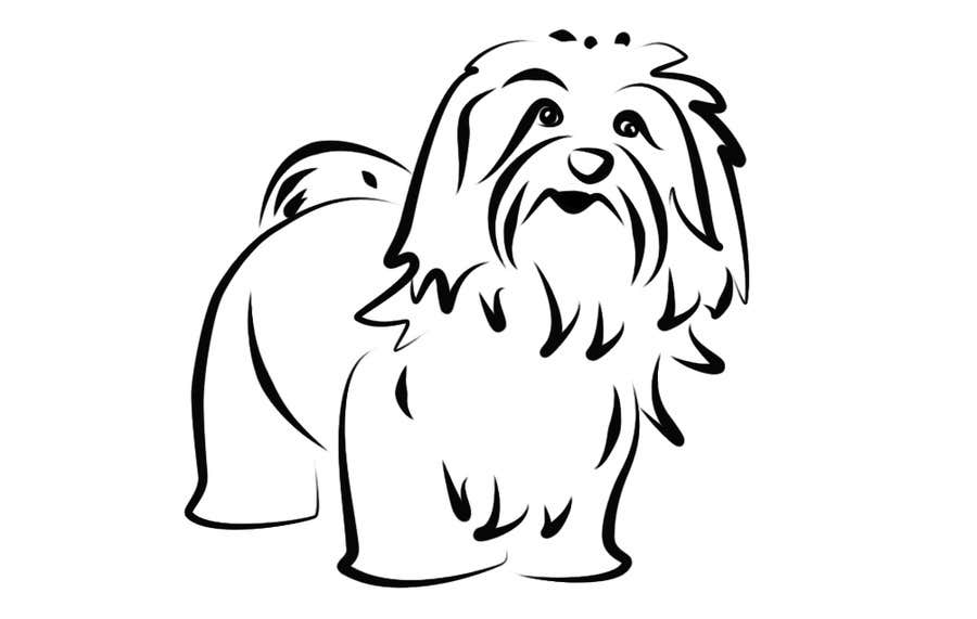 #34 for Logo / Drawing / Illustration of a dog by malathy27
