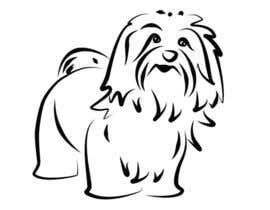 #34 for Logo / Drawing / Illustration of a dog af malathy27