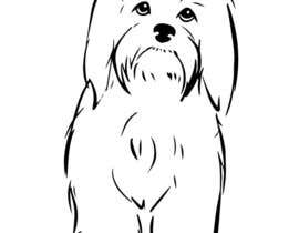 nº 5 pour Logo / Drawing / Illustration of a dog par autumnlecuyer