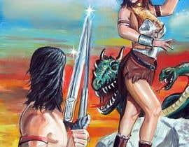 RatkoTorma tarafından Provide cover art for a sword and sorcery book için no 50