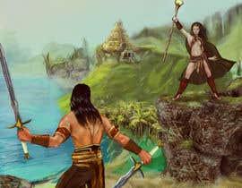 Gimio tarafından Provide cover art for a sword and sorcery book için no 4