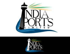 #104 cho Logo Design for India Ports bởi frtodum