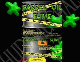 HudaMughal tarafından DESIGN OIL BARREL SLIME DISPLAY UNIT PACKAGING FOR SLIME ITEM için no 12