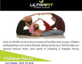 "nº 6 pour Design a Flyer for ""Become a Ultrafit Family"" par hijibijitech"