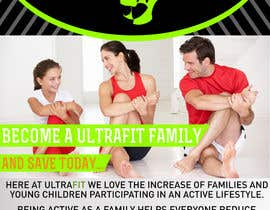 "nº 7 pour Design a Flyer for ""Become a Ultrafit Family"" par andrei11"