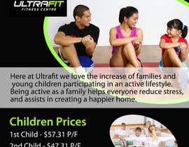 "nº 2 pour Design a Flyer for ""Become a Ultrafit Family"" par mdreyad"