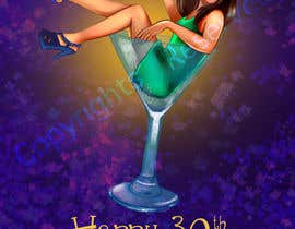 #9 cho 30th Birthday Illustration / Caricature bởi SehreenS