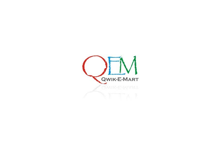 Конкурсна заявка №203 для Logo Design for Qwik-E-Mart