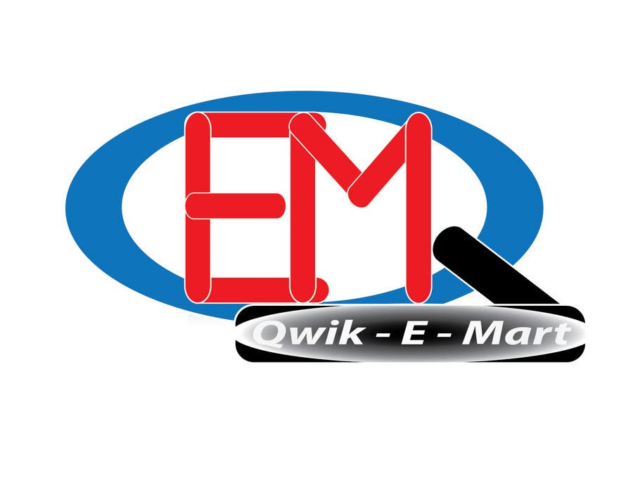 Participación en el concurso Nro.229 para Logo Design for Qwik-E-Mart