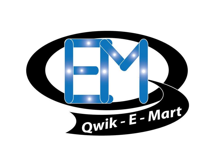 Participación en el concurso Nro.218 para Logo Design for Qwik-E-Mart