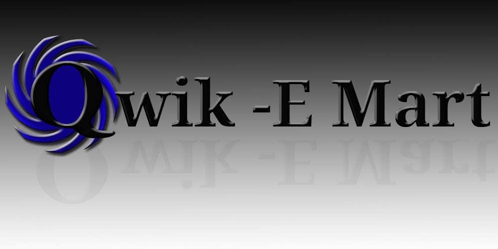 Participación en el concurso Nro.22 para Logo Design for Qwik-E-Mart