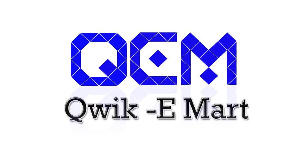 Конкурсна заявка №79 для Logo Design for Qwik-E-Mart