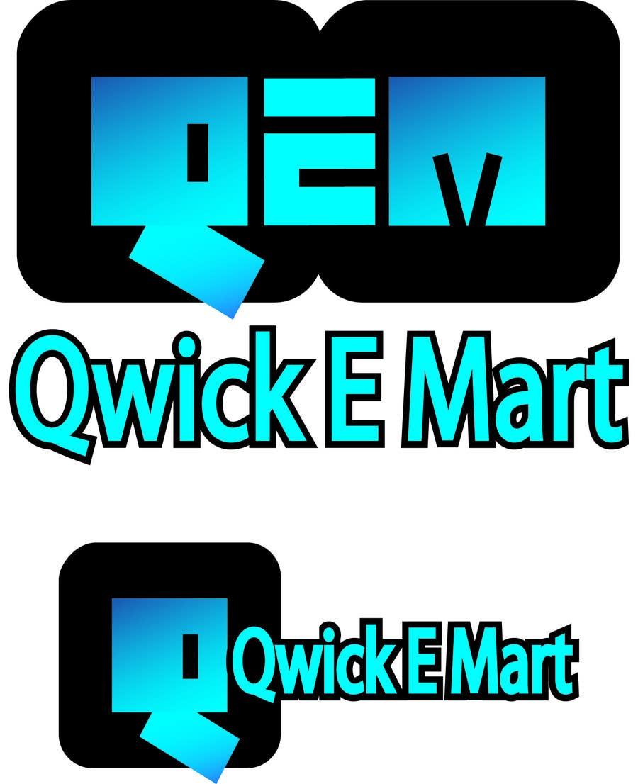Participación en el concurso Nro.206 para Logo Design for Qwik-E-Mart