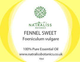 MilicaSs tarafından Need labels designed for a brand of essential oils için no 9
