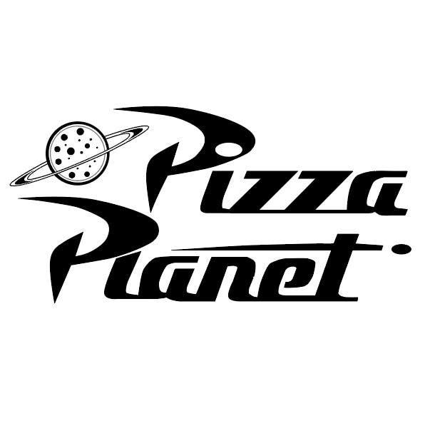 pizza planet rocket ship vector freelancer. Black Bedroom Furniture Sets. Home Design Ideas