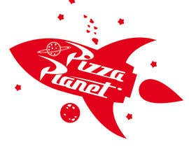 #12 for Pizza Planet Rocket Ship Vector by pbevilacqua